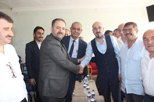 AK Parti İl Teşkilatından Mhp Ziyaret