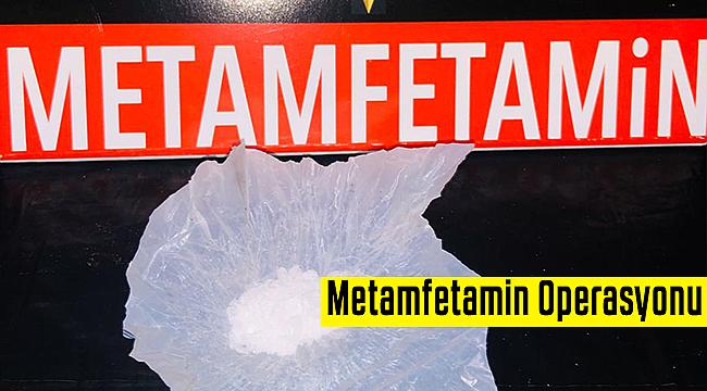 Karaman'da Metamfetamin (Kristal) Operasyonu