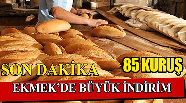 Karaman'da Ekmek Fiyatlarında Büyük İndirim