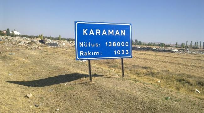 Karaman nüfusu ne kadar?