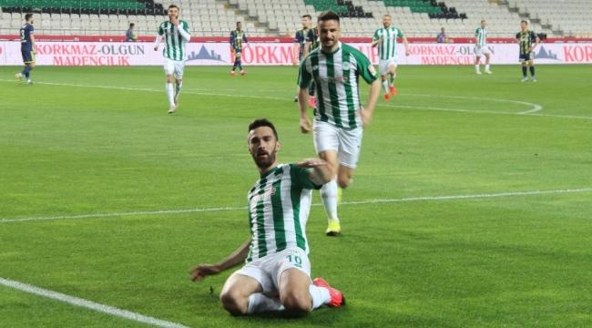 Süper Lig: Konyaspor: 1 - Fenerbahçe: 0