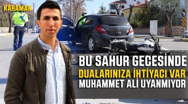 Muhammet Ali'nin Dualarınıza ihtiyacı var