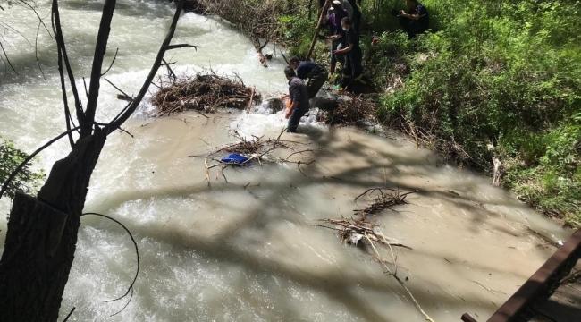 Halkapınar'da Sulama kanalına düşen Ömer hayatını kaybetti