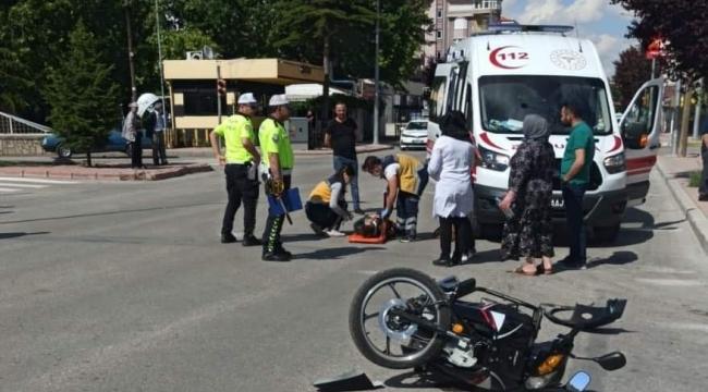 Karaman'da motosiklet kazası: 1 ölü