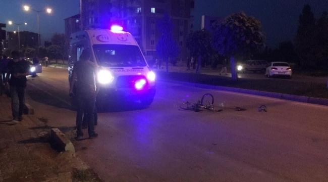 Ereğli'de aracın çarptığı bisikletli çocuk hayatını kaybetti
