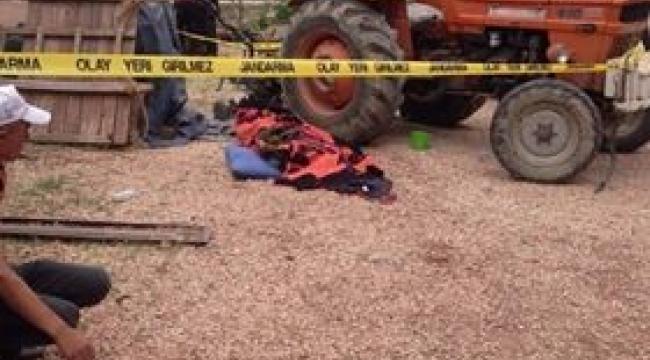 Traktör ile çapa motoru arasına sıkışan 1 kişi öldü