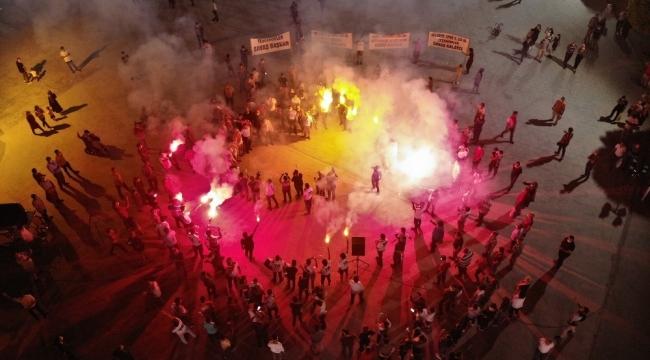 Karaman Belediyespor'un 3. lige yükselmesi coşkuyla kutlandı