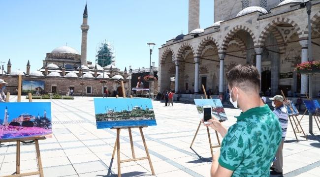 """Konya Büyükşehirden """"Muhteşem Ayasofya"""" fotoğraf sergisi"""