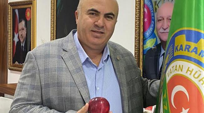 Elmamız artık Karaman'dan ihracat yapılacak.