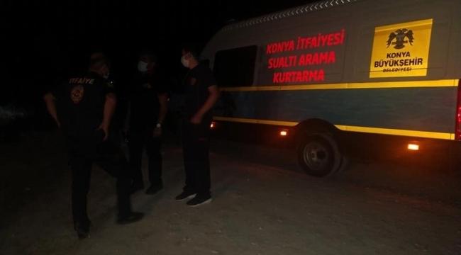 Konya'da su içerisinde erkek cesedi bulundu