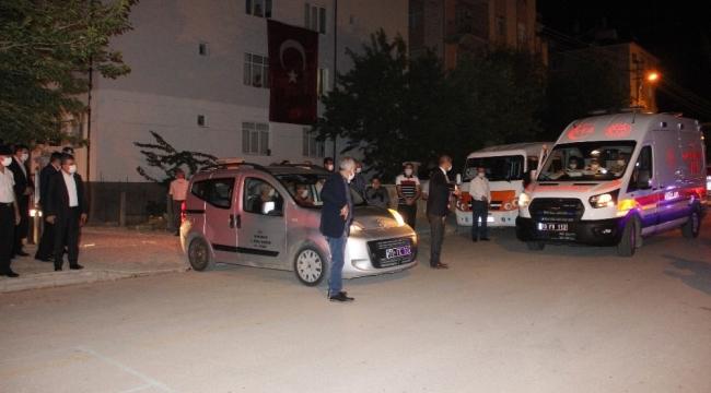 Mersinli şehidin şahadet haberi Karaman'da oturan eşine ulaştı