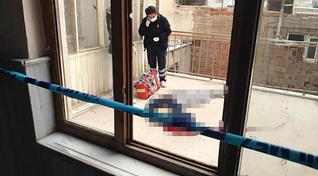 Ereğli'de apartman boşluğunda şüpheli ölüm