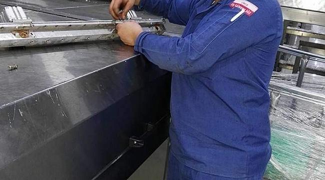 Kafasını kek makinesine kaptıran işçi hayatını kaybetti