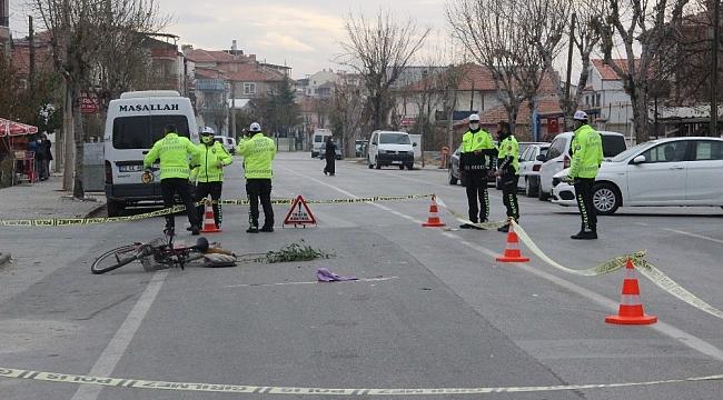 Karaman'da Bisikletli yaşlı adama çarpan araç kaçtı