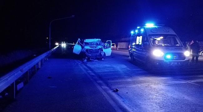 Mut'da trafik kazası: 2 ölü, 2 yaralı