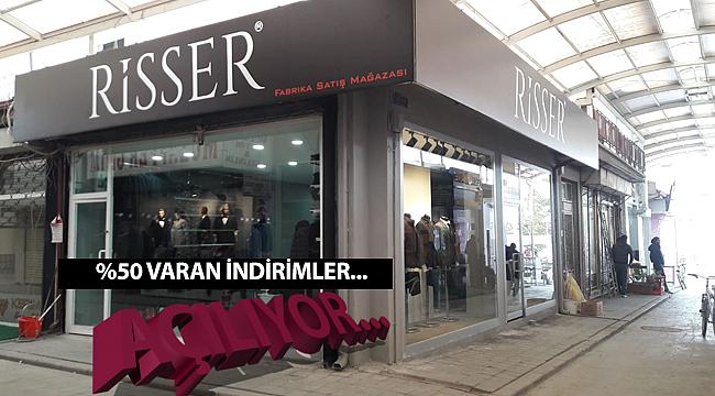 Risser Fabrika Satış Mağazası Karaman'da Açıldı