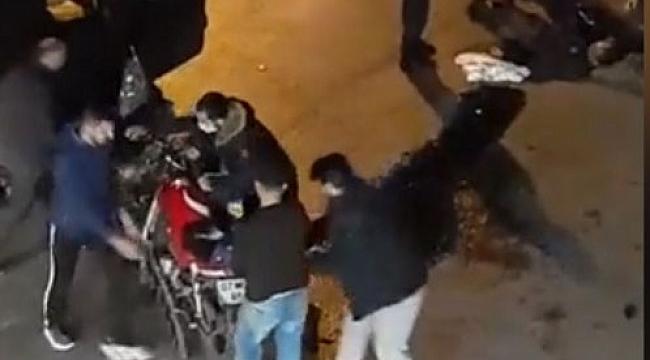 Antalya'da  Otomobilin altına giren motosiklet sürücüsü ölümden döndü