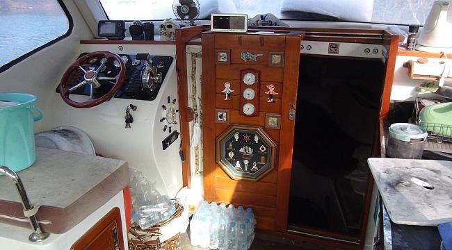 Tekne kapısını kırıp sigara çalan hırsız tutuklandı