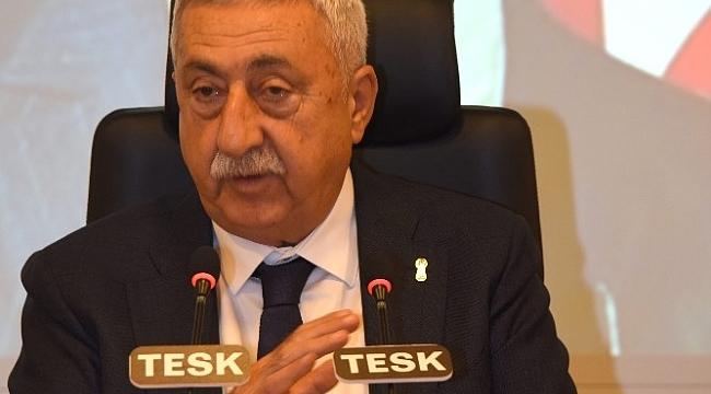 """TESK Genel Başkanı Palandöken: """"Tedbirler esnafın ayakta kalmasını sağlar"""""""