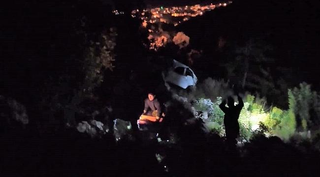 Alanya otomobil uçuruma yuvarlandı: 1 ölü