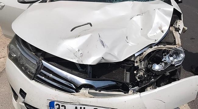 Silifke'de Kaza Otomobil motosiklete çarptı: 1 ölü