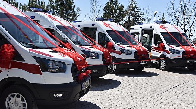 Tam Donanımlı 4 Yeni Ambulans Hizmete Girdi