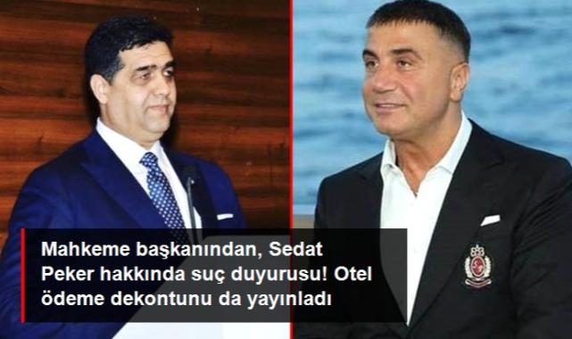 Esat Toklu'dan Sedat Peker hakkında suç duyurusu! Otel ödeme dekontunu da yayınladı