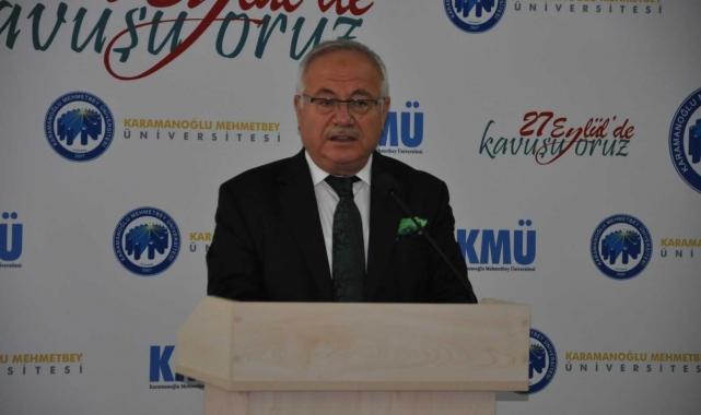 """KMÜ Rektörü Namık Ak: """"Hiçbir evladımızın mağdur olmasına izin vermeyeceğiz"""""""
