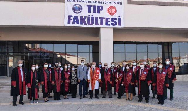 KMÜ Tıp Fakültesi ilk öğrencileri ile eğitime başladı
