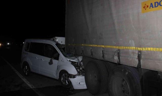 Konya'da 4 araç zincirleme kazaya karıştı: 1 ölü, 1 yaralı